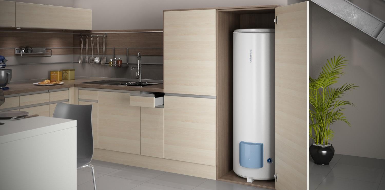 boiler Electrique placé pratique dans un meuble
