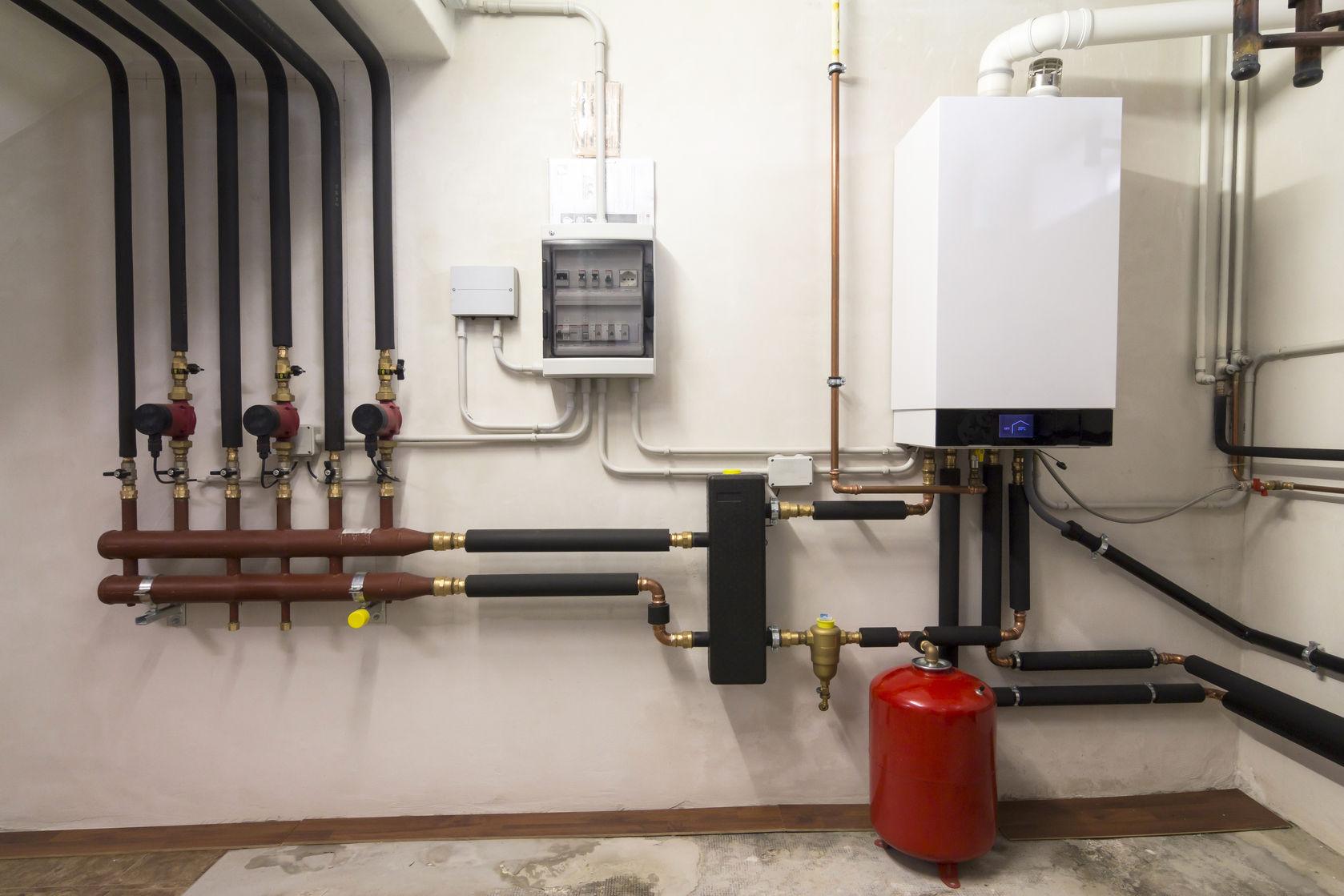 installation de chaudière murale gaz
