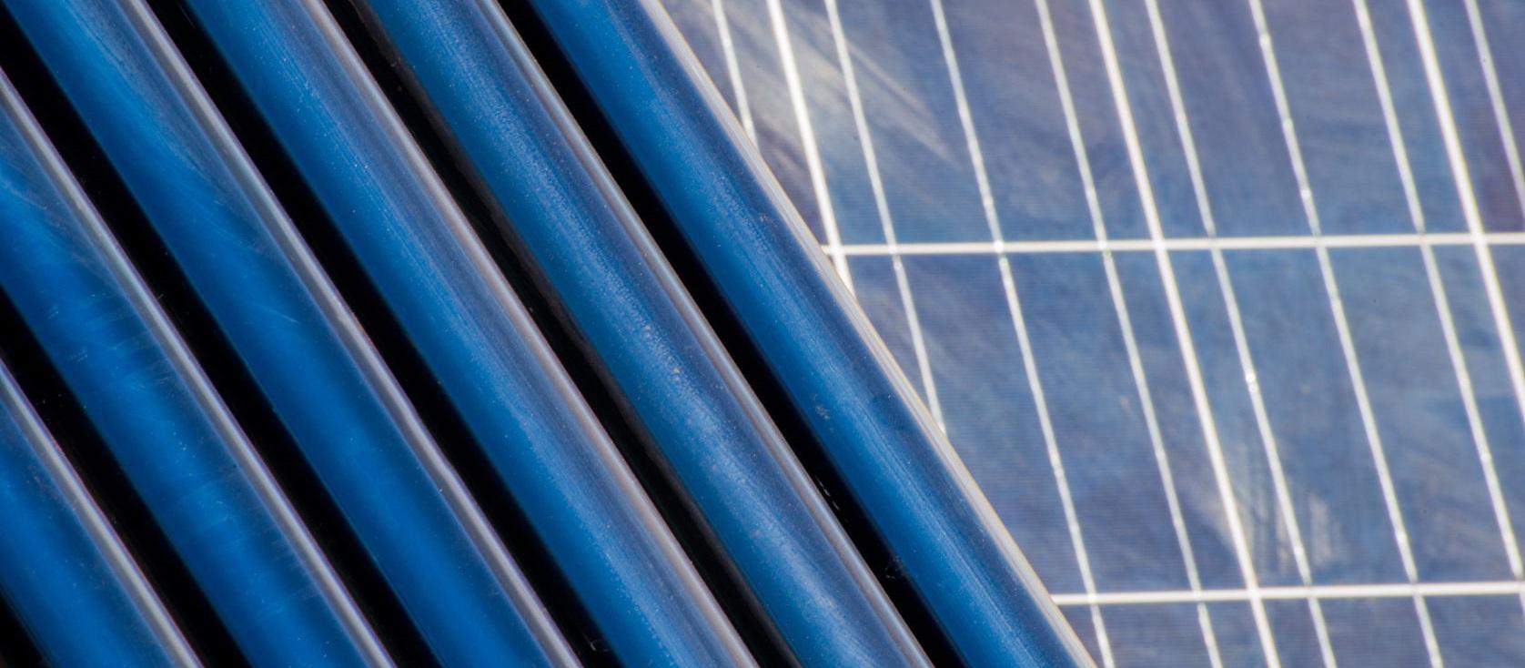 panneau solaire comparatif tube sous vide
